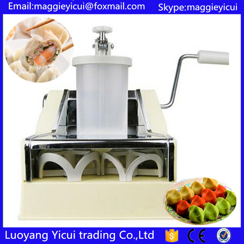 Manual dumpling machine mini household food maker high quality household manual hand dumpling maker mini press dough jiaozi momo making machine