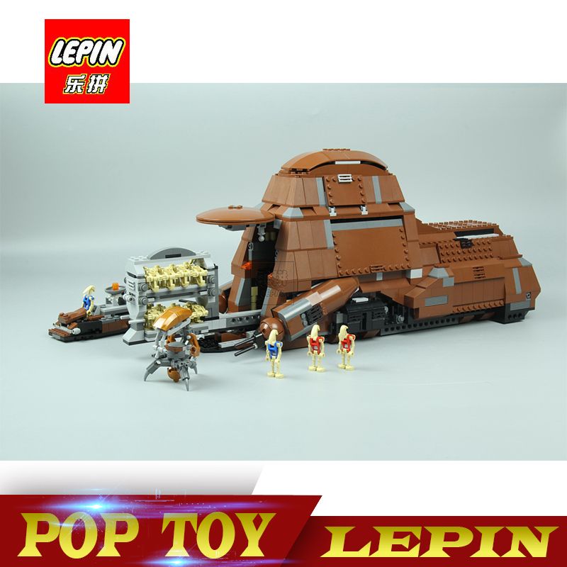 New Lepin 05069 Star War Series The Federation Transportation Tank Set MTT Children Building Blocks Bricks legoed Toys 7662 new lp2k series contactor lp2k06015 lp2k06015md lp2 k06015md 220v dc