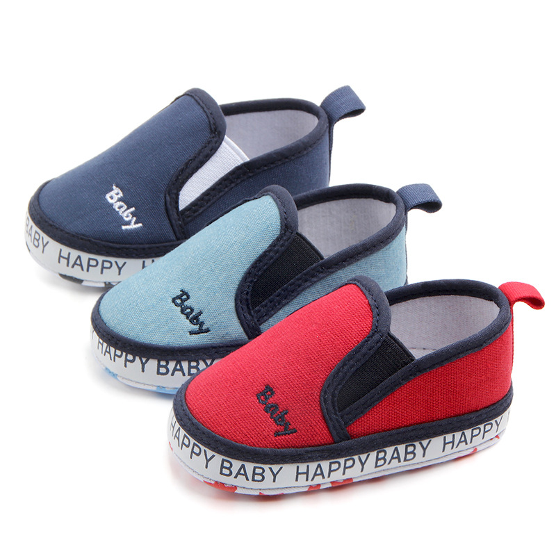 baby boy shoes toddler canvas shoes red shoes infant boy ...
