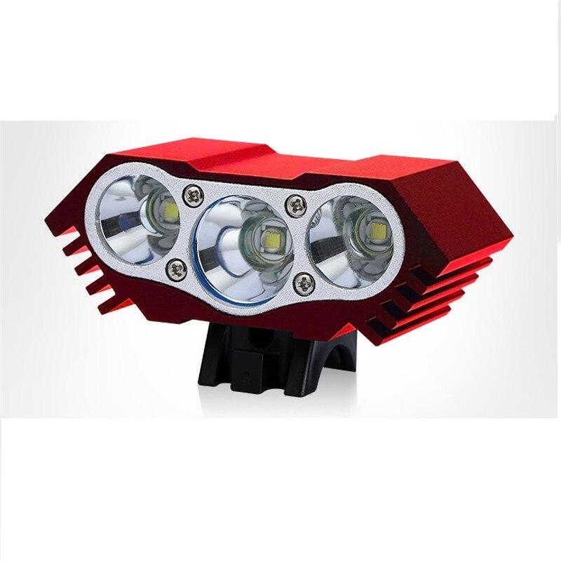 Водонепроницаемый светодиодный велосипедный светильник 3XT6 на 10 000 лм, передний велосипедный светильник, ночник, 5 В, только фара USB, без аккумулятора|Велосипедная фара|   | АлиЭкспресс