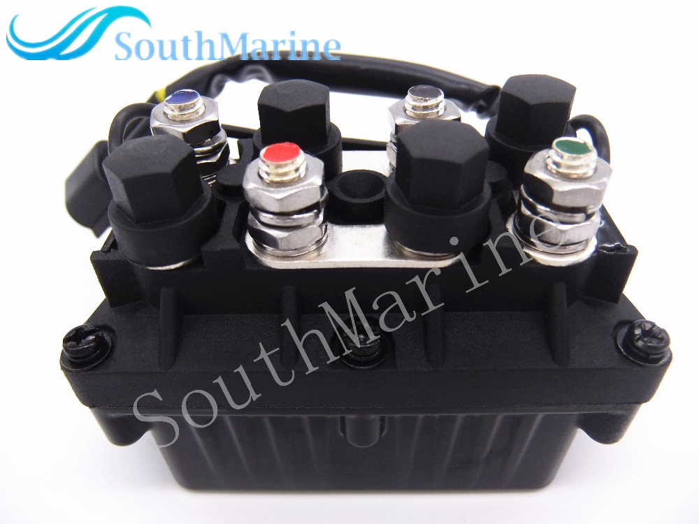 Boat Engine 61A-81950-00-00 Relay Assy for Yamaha 25hp - 250hp ET PPT Outboard Motors , 3 Pin