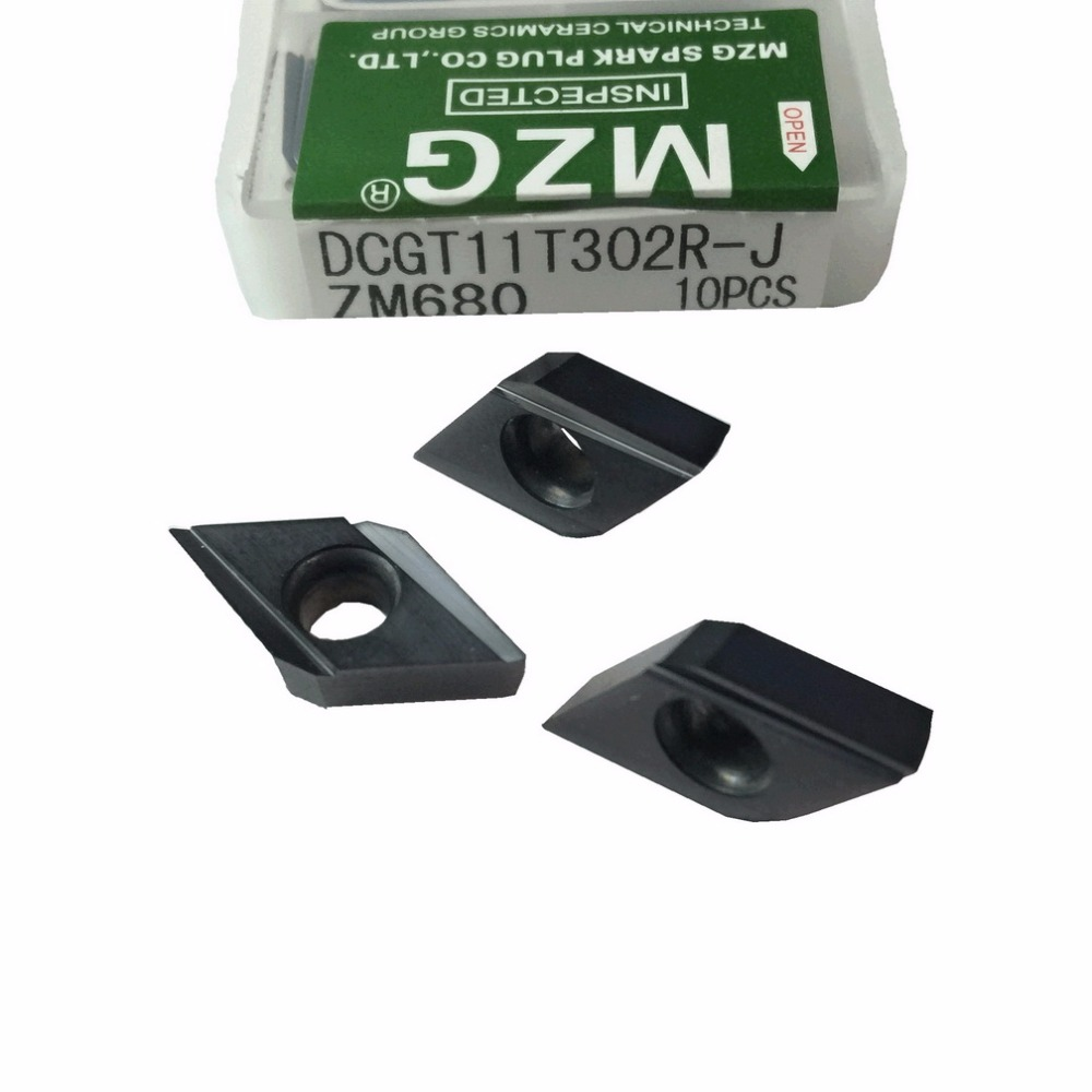 MZG DCGT11T301 DCGT11T302 R J ZM680 CNC 切断ボーリング工具ホルダステンレス鋼処理刃先交換式超硬インサート  グループ上の ツール からの ターニングツール の中 2