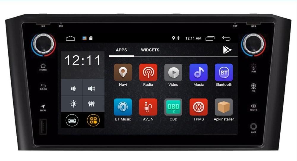 2018 4g LTE 9 Android 8.1 Système Lecteur DVD de Voiture Stéréo POUR Avensis T25 2003 2004 2005- 2007 2008 Auto Radio RDS OBD DAB + RDS FM