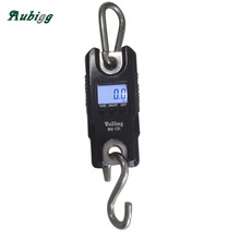 Livestock Scale 300kg/0.1 Portable Mini Electronic Digital Hanging Scale Luggage Animal Balanca Handy Digital Weight Hook Scale