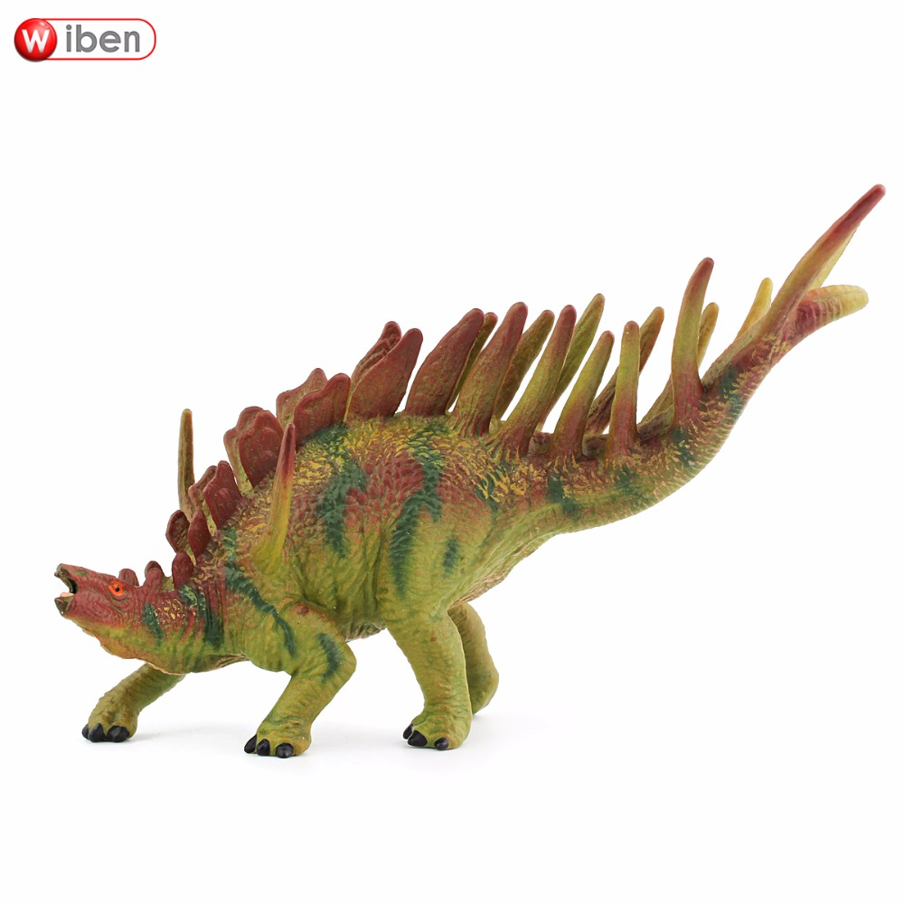 Wiben Jurassic Kentrosaurus Dinosaur Toys  Action Figure Animal Model Collection Learning & Educational Kids Gift Classic Toy wiben jurassic carnotaurus action figure animal model collection vivid hand painted souvenir plastic toy dinosaur birthday gift