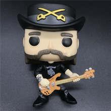 Pops Rocks #49 Lemmy Kilmister model toy Vinyl Figure Collection toy The best gift souvenir NO BOX