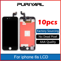 10pcs AAA For IPhone 6S Full LCD 3D Touch Screen Digitizer Assembly Bezel Frame Display Pantalla