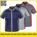Men's High quality durable Poly cotton short sleeve work shirt work clothing workwear work jacket