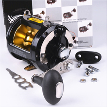 TR12000 boat reel 8 shaft max drag 25 kg gear ratio 3.4:1 trolling wheel jig fishing reel fishing tackle