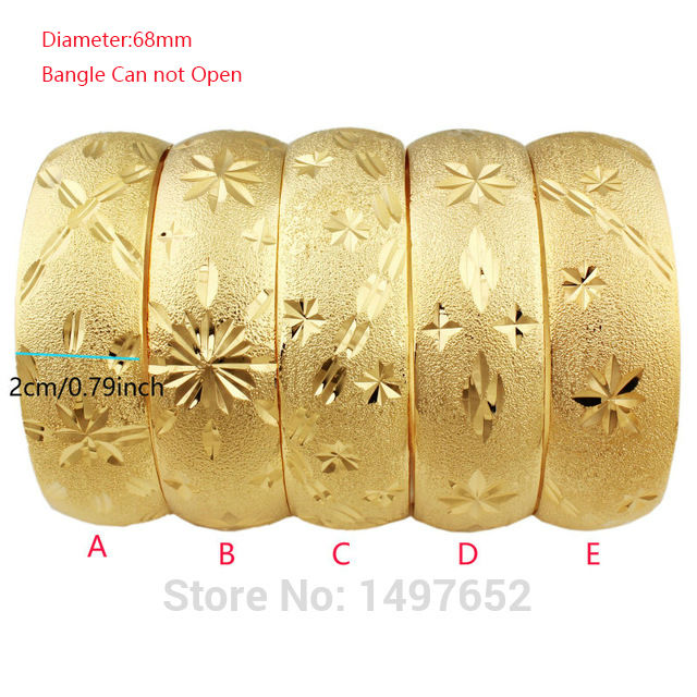 Mais novo grande ampla pulseira etíope/cor de ouro pulseiras & pulseiras dubai africano