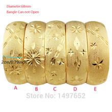 Новые Большие широкие бриллиантовые/золотистые браслеты и дубайские
