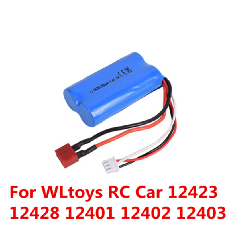 Wltoys Car Lipo Battery 18650 74v 2s 1500mah 15c For Rhaliexpress: Rc Car Battery At Cicentre.net