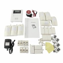 Safearmed SF-10B 101 Zones Wireless GSM Home Security Alarm Burglar System for Fire, Gas Leak, Door Lock, Living Room,