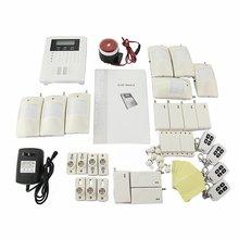 Safearmed SF-10B 101 Zones Wireless GSM Home Security Alarm Burglar System for Fire, Gas Leak, Door Lock, Living Room,