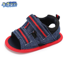 Newborn Summer Sandals baby boys girls Comfortable  Toddler Shoe Soft bottom canvas outdoor shoes 0-18 Month