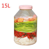 Thicken Round plastic bucket 15L Food Grade PC Household storage container water barrel Fruit wine Fermenter with lid