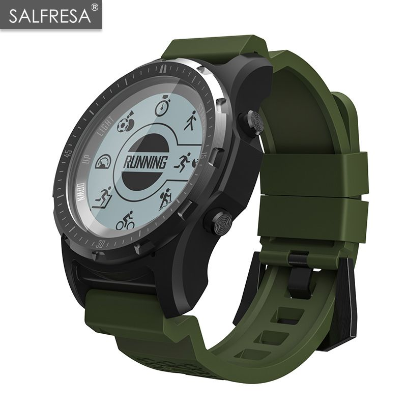 SALFRESA Men GPS S966 Sport Watch Bluetooth HIKING Speedometer ECG HR Multi-sport fitness tracker Smart WatchSALFRESA Men GPS S966 Sport Watch Bluetooth HIKING Speedometer ECG HR Multi-sport fitness tracker Smart Watch