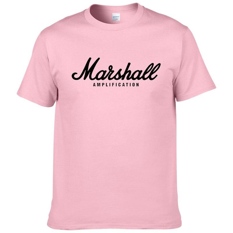 100% cotton Marshall T Shirt men short sleeves tee hip hop street wear for fans hipster 21