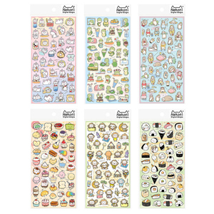 Image 2 - 20sets/1lot Kawaii Stationery Stickers Unicorn Monkey Diary Planner Decorative Mobile Stickers Scrapbooking DIY Craft Stickers