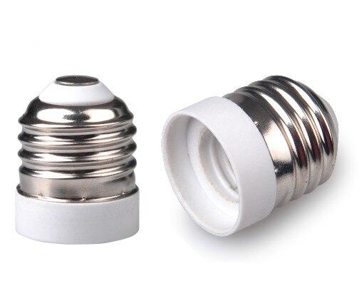 E26 To E17 Adapter Standard Medium Base To Chandela Light Socket Adapter E26 To E17 Lamp Holder Converter, CE Rohs