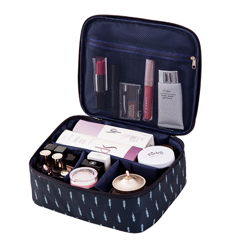 Brand organizer travel fashion lady cosmetics cosmetic bag beautician storage bags large capacity Women makeup bag H127
