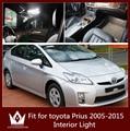 Guang Dian 8 pcs luz porta do carro-styling LEVOU Luz de Leitura Luz Interior luz Kit Pacote para toyota Prius acessórios 2005-2015