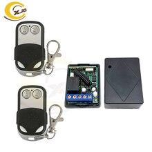 Xjq DC12V 1CH Беспроводной дверной переключатель с дистанционным управлением, дешевая заводская цена металлический корпус пульта дистанционного управления с обучающий код