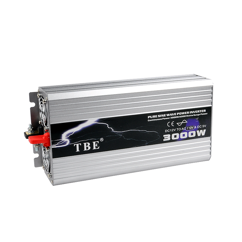 TBE 3000W USB DC12V 24V 48V To AC 220V Pure Sine Wave Inverter Car Electronic Accessories