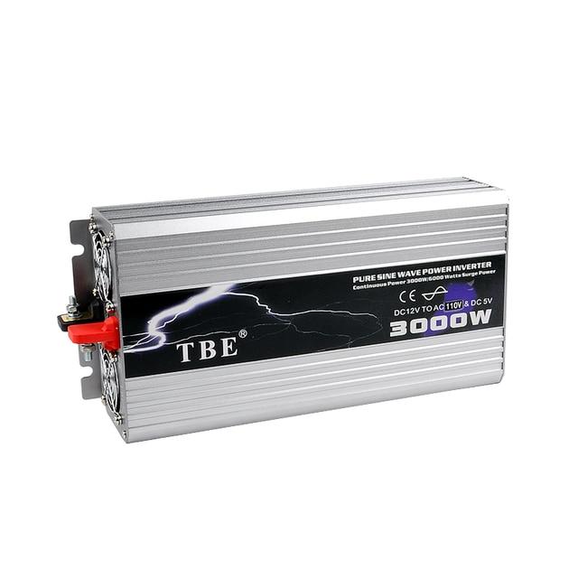 Swell Tbe 3000W Usb Dc12V 24V 48V To Ac 220V Pure Sine Wave Inverter Car Wiring Database Gramgelartorg