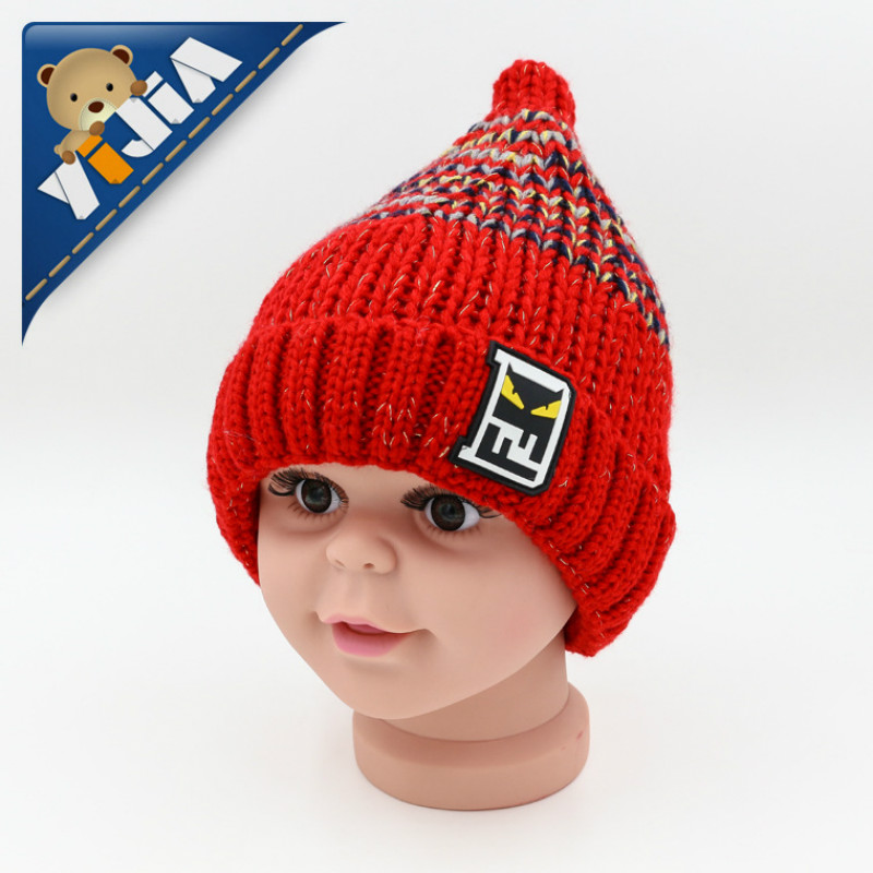 Girl's Accessories Girl's Hats Smart Cute Baby Winter Hat Warm Child Beanie Cap Animal Cat Ear Kids Crochet Knitted Hat For Children Boys Girls Hot New 100% Guarantee