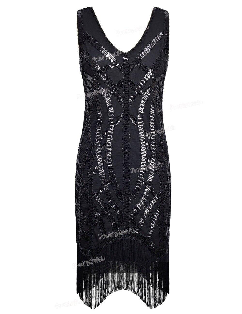 Black dress 1920s style 4 curves