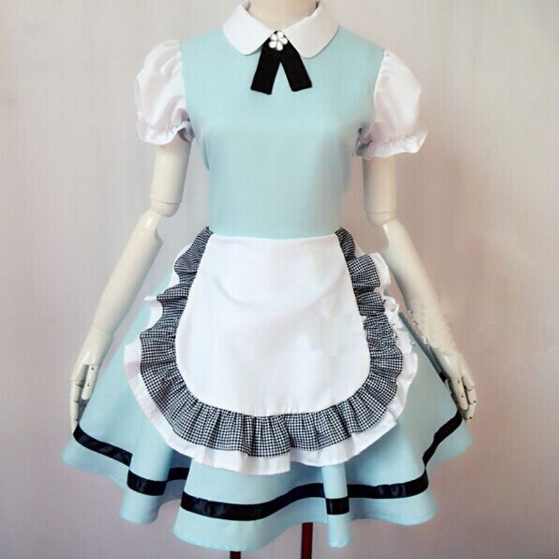 2019 NEW anime beer adult <font><b>naughty</b></font> halloween sissy maid <font><b>dress</b></font> cosplay <font><b>sexy</b></font> maid costumes women cosplay lolita pink black japanese image