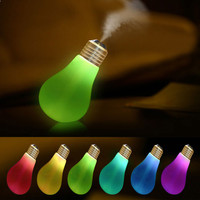 Lamp Humidifier Home Aroma LED Humidifier Air Diffuser Purifier Atomizer Moisturizing Incense Burners Free Shipping
