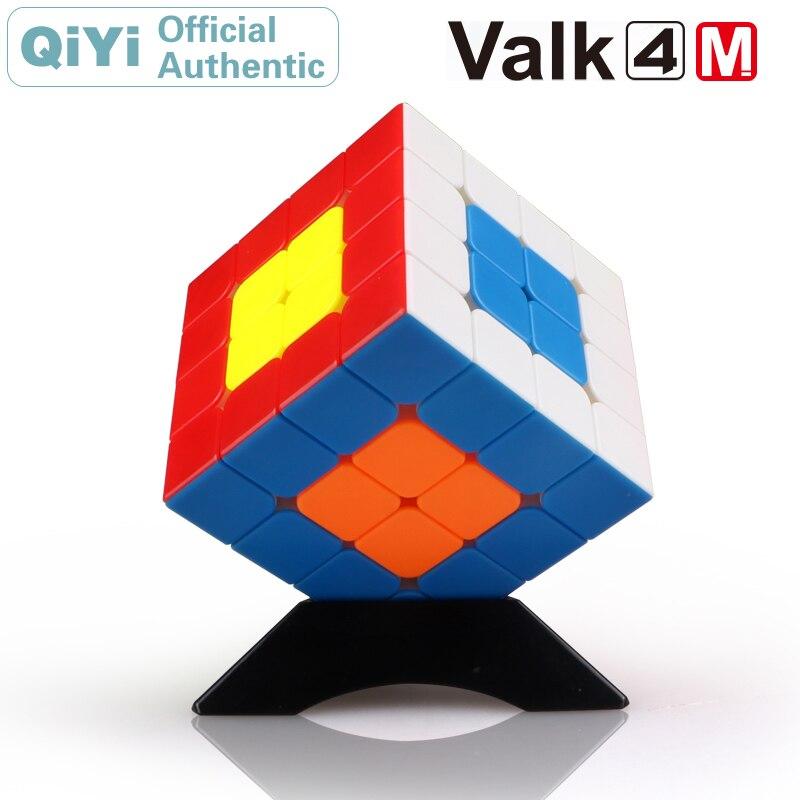 QiYi le Valk 4 M 4x4x4 Cube magique magnétique Valk4 Valk4M aimants 4x4 Cube de vitesse professionnel Puzzle Antistress Fidget jouets enfants