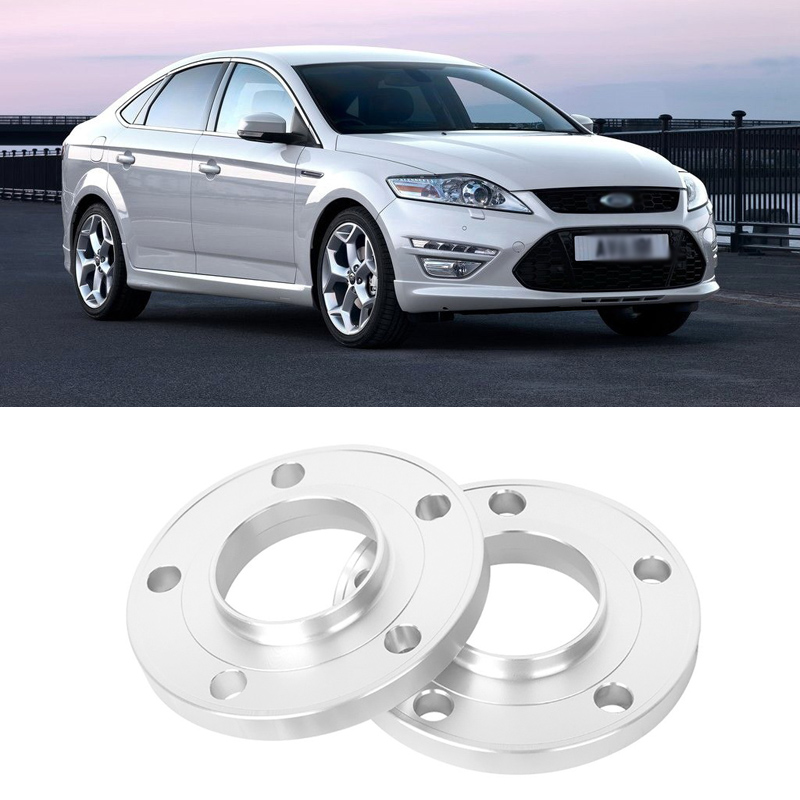 2PCS 5x108 63.4CB Aluminum Centric Wheel Spacers Tire Adapters Rims Flange Hubs For Ford Mendeo 2004+ цена 2017