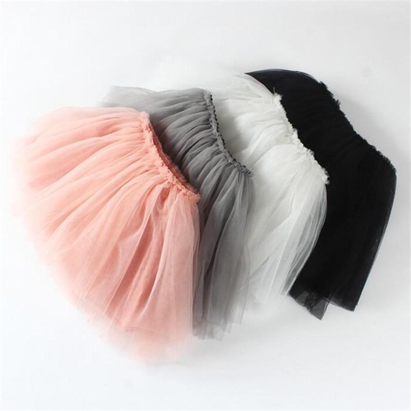 Baby Girl Pettiskirts Net Veil Skirt Kids Cute Princess Clothes Newborn Birthday Gift Toddler Ball Gown Party Kawaii TUTU Skirts