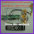 ТВ/HDMI/VGA/AV/USB/АУДИО контроллер ЖК-ДИСПЛЕЯ Плата для 1680x1050 4 CCFL жк-панель