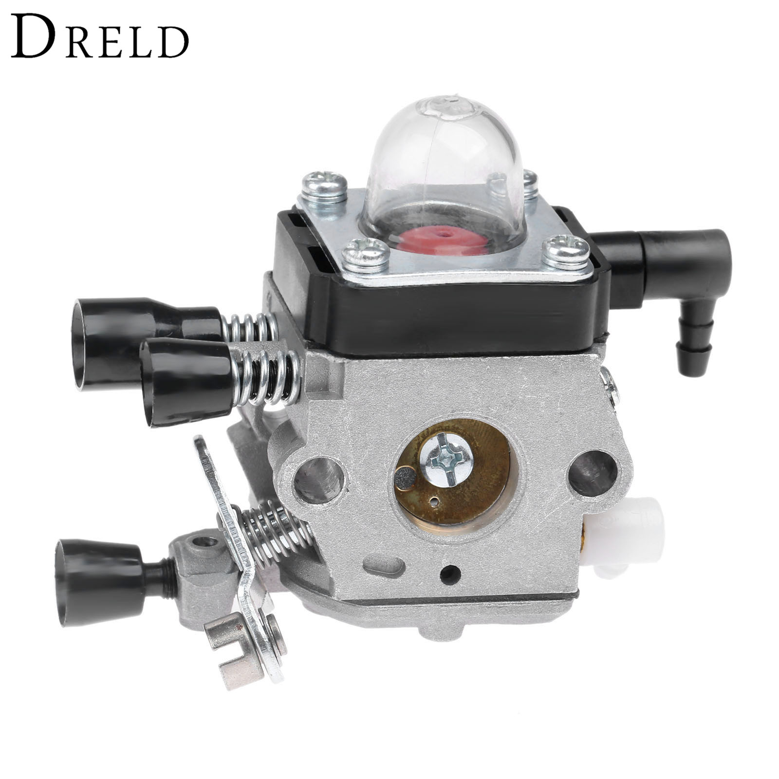 DRELD Chainsaws Carburetor Carby Replace for <font><b>Stihl</b></font> <font><b>FS38</b></font> FS45 FS46 FS46 FS55 HL45 FC55 Fit for Zama C1Q-S186 Chainsaws Spare Part image