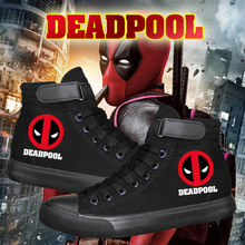 304ae5813d The high quality Deadpool Canvas shoes From X-men Cosplay Superhero X-Men  Cool