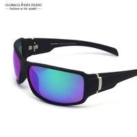 Очки Обёрточная бумага Солнцезащитные очки для мужчин и женщин активного отдыха с защитные УФ-зеркало анти отражающей объектива