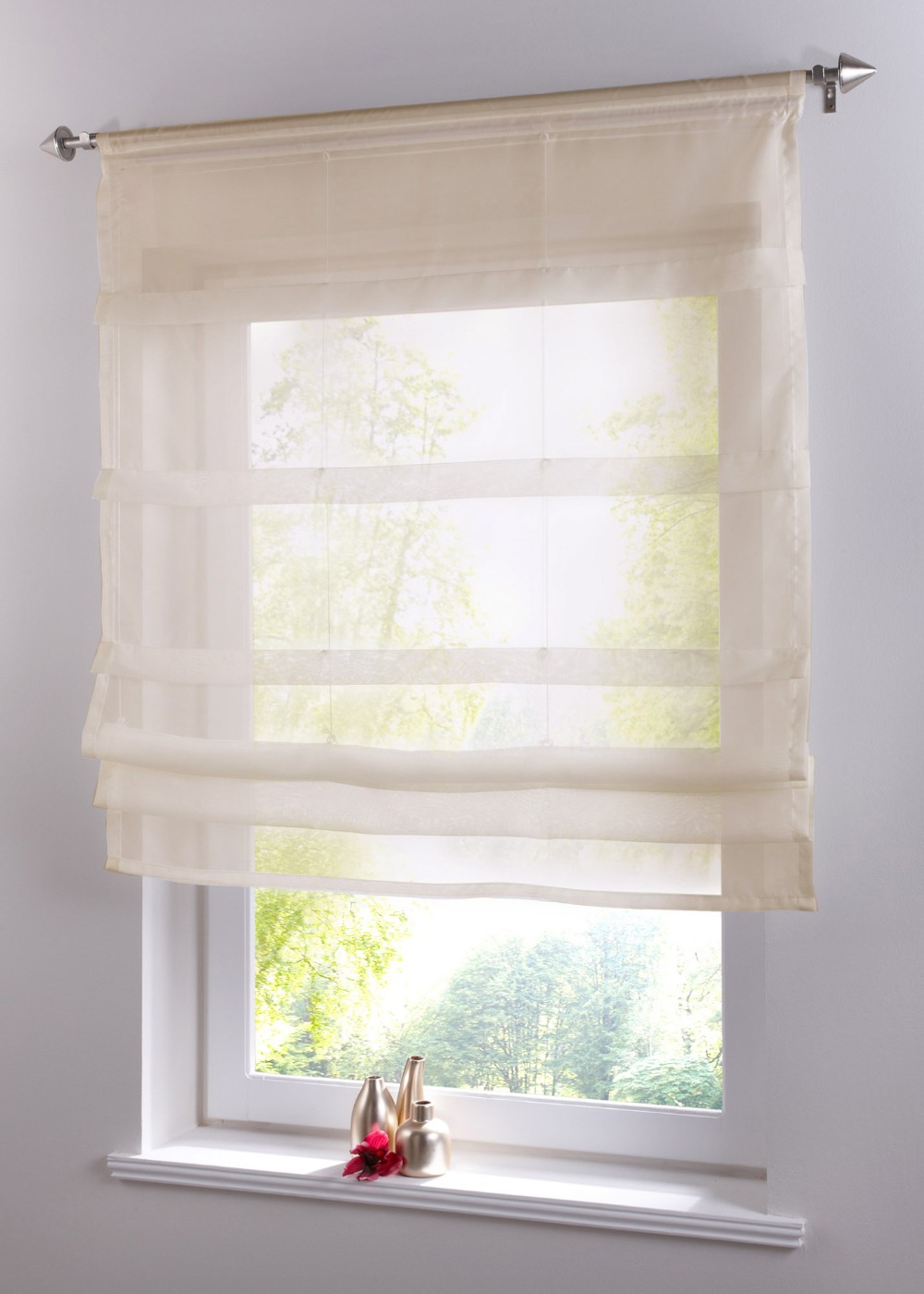 Buy g002 kitchen balcony voile sheer for Balcony curtains