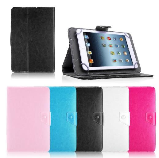Leather Case Stand Cover For Universal Android Tablet PC PAD tablet 10 inch case universal For samsung galaxy tab 4 10 1 in Tablets e Books Case from Computer Office