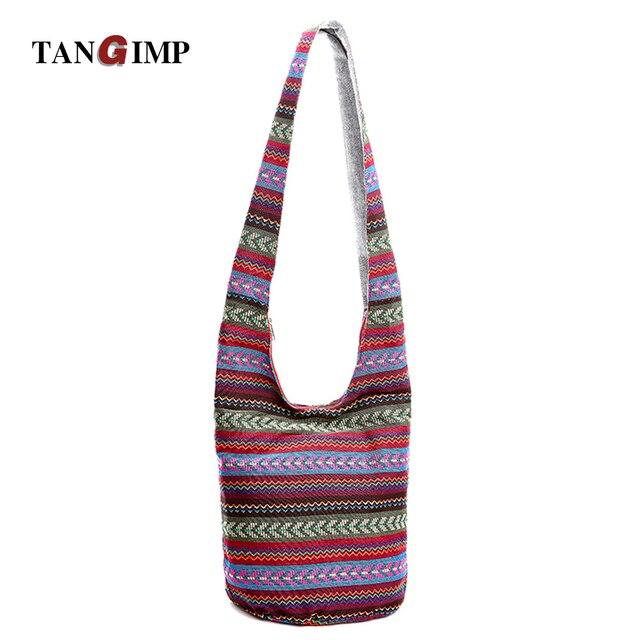 5d07a0e6ff673d TANGIMP Women Ethnic Shoulder Bag Aztec Thai Hippie Hippy Gypsy Boho Tribal  Big Hobo Sling Crossbody Hipster Handmade Bags