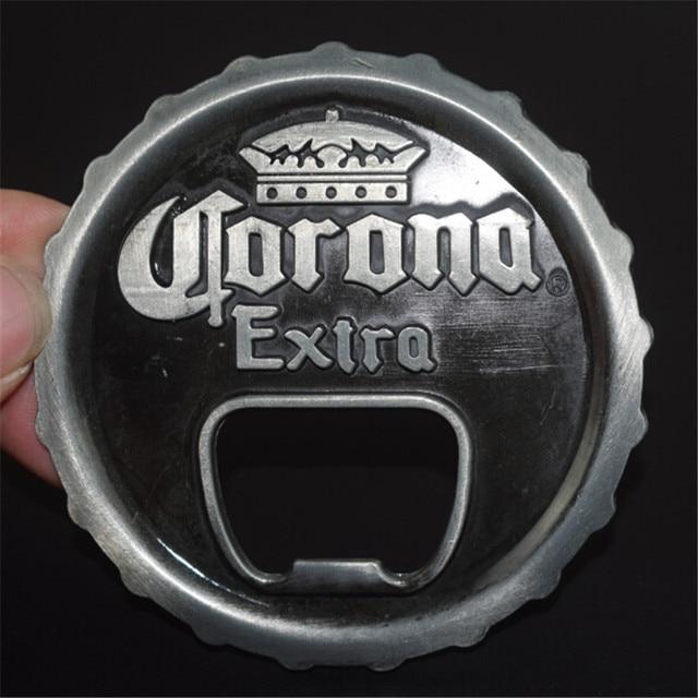 86e185e024f Women mens clothing cowboy belt buckles accessories tool diy luxury bottle  cap metal bottle opener buckle belt Christmas gift