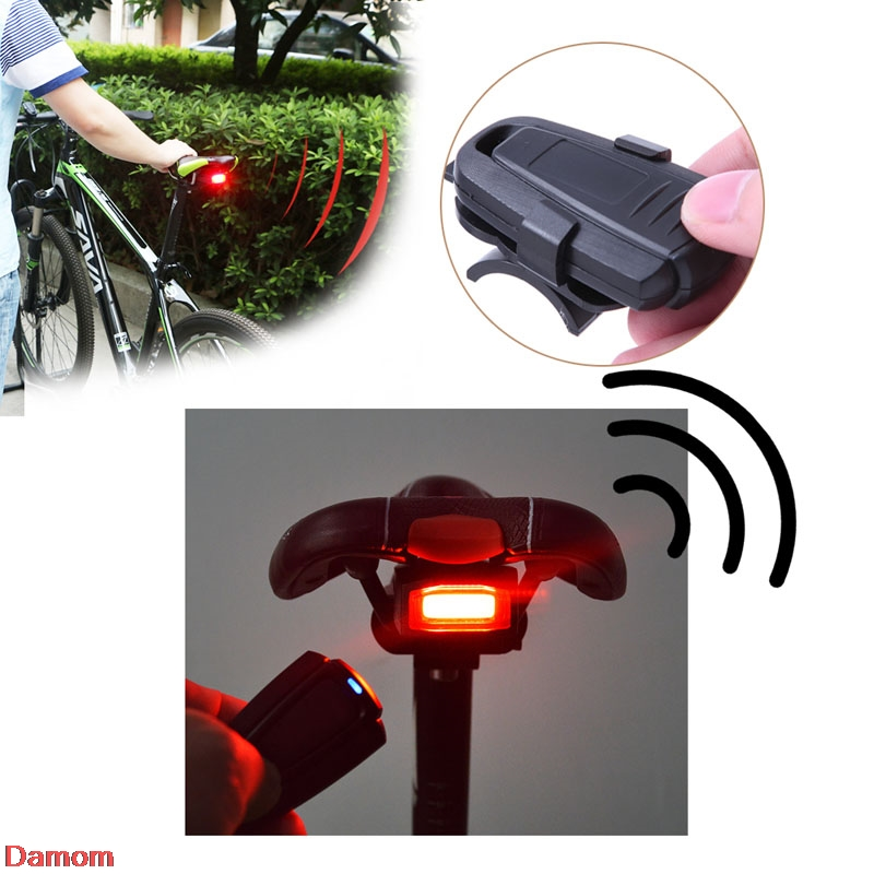 4 In 1 Bicycle Bike Security Lock Wireless Alarm Anti-theft Remote Control New