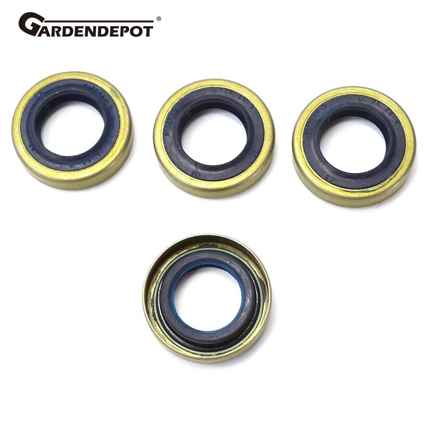 Crankshaft Crank Grooved Ball Bearing Oil Seal For Husqvarna 268 272 61 66 266
