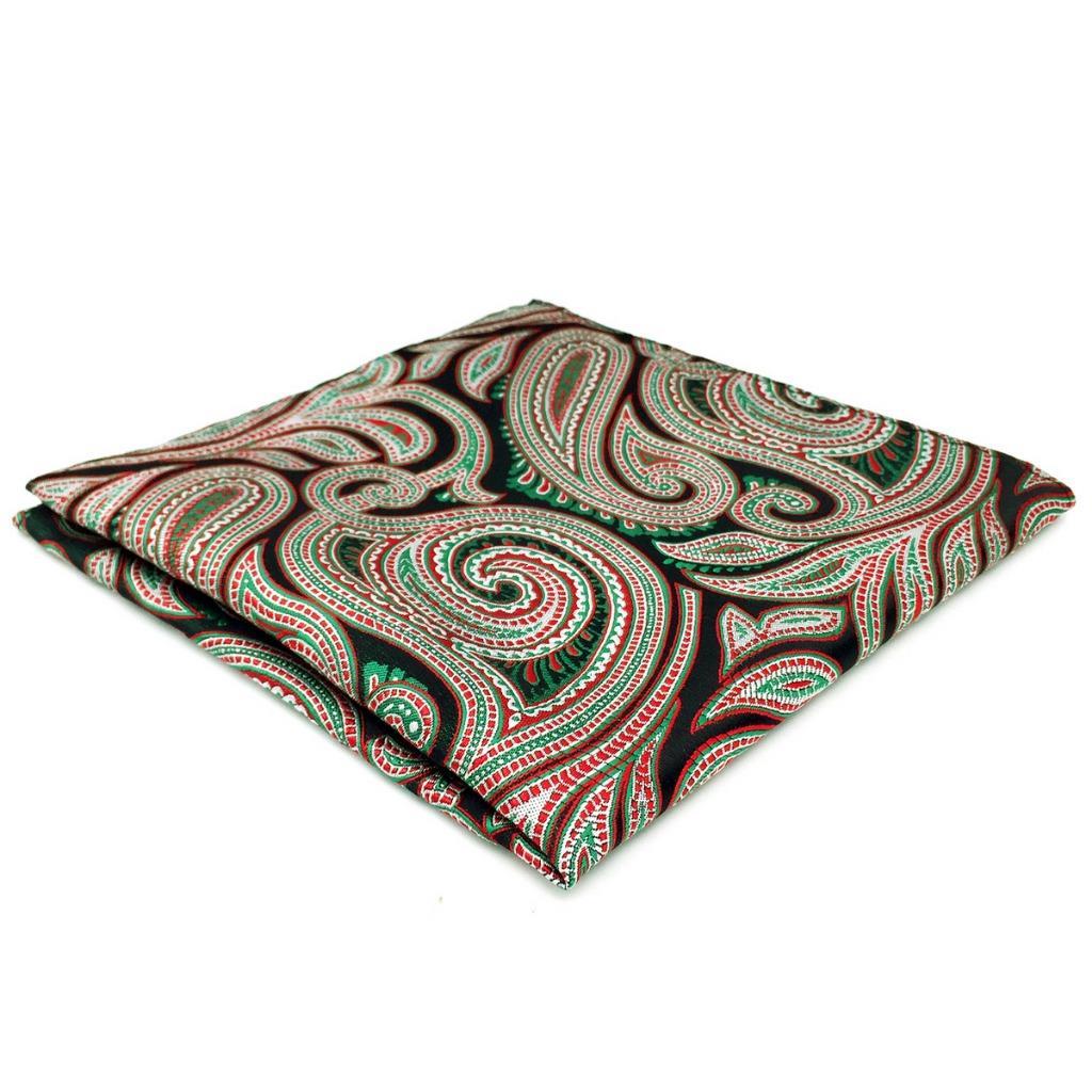 DH08 Paisley Multicolor Mens Pocket Square Hanky Wedding Classic Handkerchief Brand New Fashion