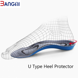 Image 5 - 3ANGNI Orthotic Arch Support Mild Flat Feet Memory Foam 3/4 Insoles Insert Soft Message For Man Woman Shoes