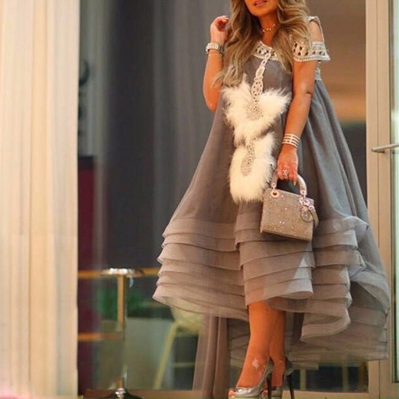 avondjurk Evening Formal Gowns Evening Dress For Women Ankle Length Evening Dresses abendkleider abiye  robe de soiree longue
