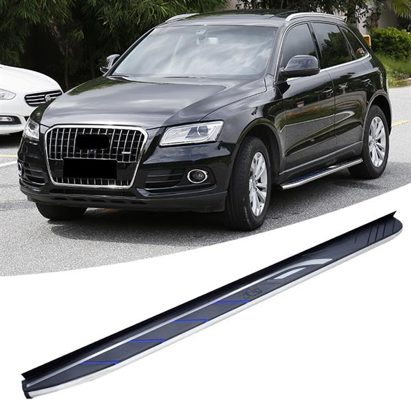 New Style Aluminium Running Board Side Step Nerf Bar Fit